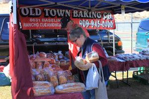 Bread Baked Fresh for the Farmer's Market