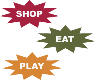 Shop, Eat, Play