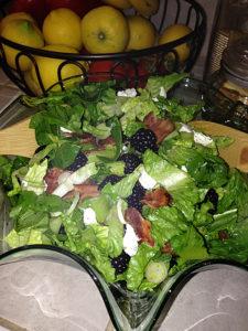 Blackberry Bacon Salad web