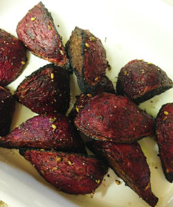 Za'atar Roasted Beets web