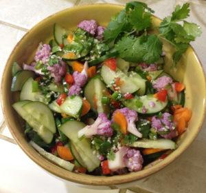 Cucumber Salad with Lemon Jalapeno Dressing web