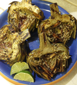 Grilled Artichokes web