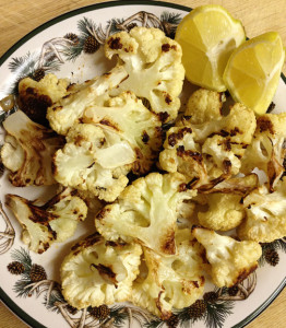 Lemon Garlic Roasted Cauliflower web
