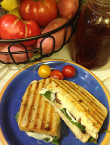 Grilled Cheese Mushroom Olive Sandwich web
