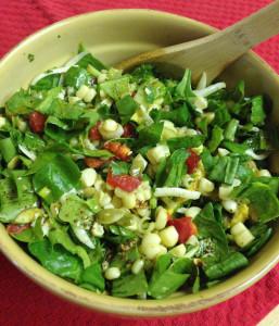 Corn Spinach Avocado Salad Web