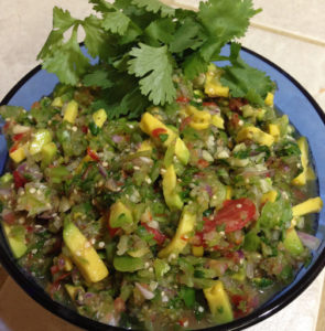 Tomatillo Avocado Salsa Web