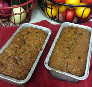 Zucchini Cranberry Coconut Bread Web