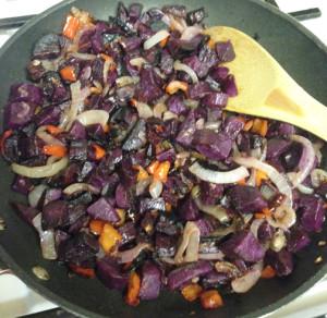 Purple Sweet Potato Home Fries Web