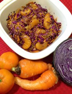 Balsamic Red Cabbage & Mandarin Salad Web