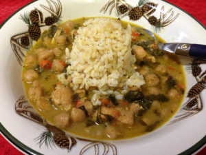 Coconut Chicken Curry Web