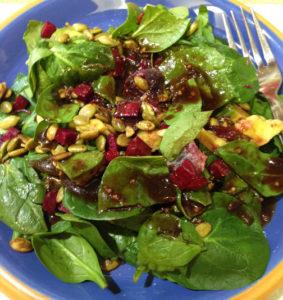 Spinach Salad 2 Web