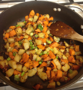 Spicy Sweet Potato Home Fries Web