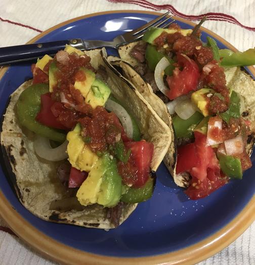 Beef Sirloin Tacos