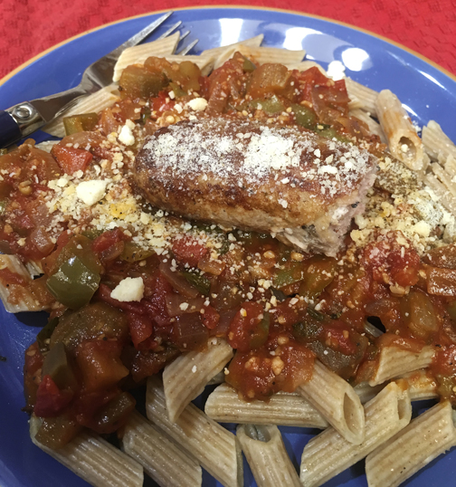 Chunky Vegetable Pasta Sauce