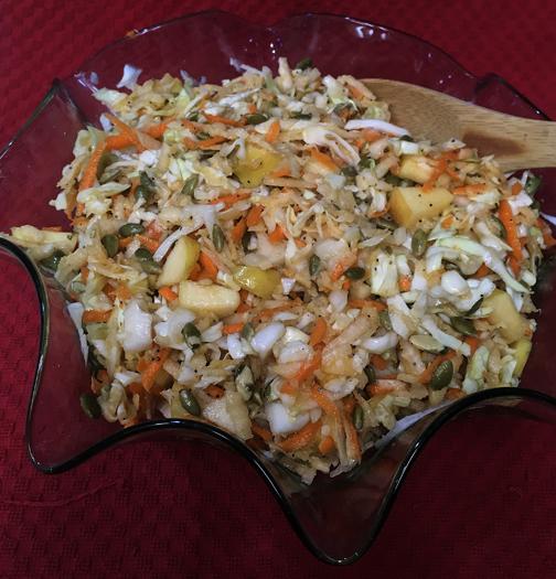 Jicama Cabbage Salad